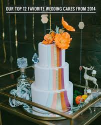 our favorite wedding cakes from 2014 green wedding shoes
