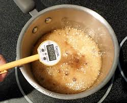 making maple syrup candy how does temperature affect it