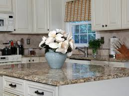 How To Build A Simple Kitchen Island How To Install A Granite Kitchen Countertop How Tos Diy