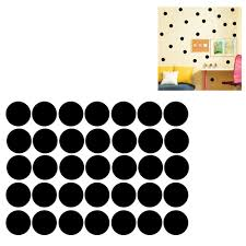 polka dots wall sticker baby nursery stickers kids polka dots polka dots wall sticker baby nursery stickers kids polka dots children wall decals home decor diy vinyl wall art black 4cm 52pcs in wall stickers from home