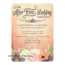 post wedding reception invitations wedding invitation beautiful wedding reception invitation after