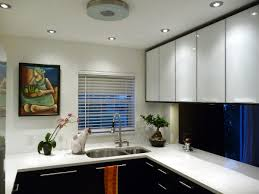 Kitchen Cabinet Pull Down Shelves Kitchen Design Glass Window Grey And White Modern Painted Kitchen