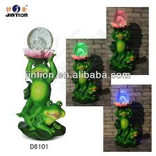 solar frog light two frogs in garden solar light with colorful lighting