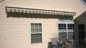 Wall Awning Shade One Retractable Awning Installation