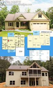 House Plans With Screened Porches 1259 Best Houses Images On Pinterest Ranch House Plans House