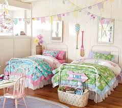 Stunning Twin Girl Bedroom Ideas Ultimate Home Ideas - Bright bedroom designs