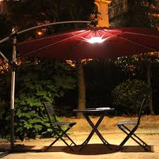 Patio Solar Lighting Ideas by Lighting Ideas Solar Patio Under Umbrella Canopy Smart Latest
