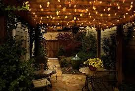 Patio Garden Lights Outdoor Lights For Patio 4 Outdoor Home Ideas Pinterest