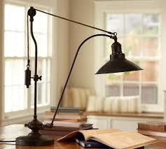 Pulley Floor Lamp Glendale Pulley Task Table Lamp Pottery Barn