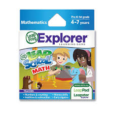 amazon com leapfrog leapschool math learning game works with