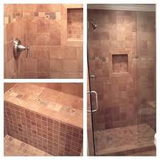 Best Bathroom Backsplashtile Images On Pinterest Bathroom - Shower backsplash