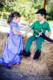 twin costume ideas peter pan wendy