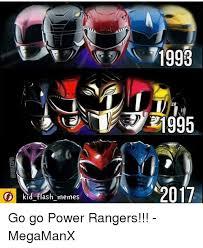 Power Ranger Meme - kid flash memes 1993 21995 2017 go go power rangers megamanx