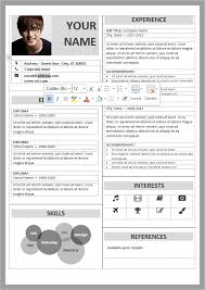 Resume Template Word 2007 Free Free Cv Templates Word 2007 Professional Resumes Sample Online
