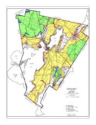 Wayne County Tax Map Zoning Map Town Of Wayne Maine