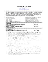 medical sales resume examples examples of a good objective for a