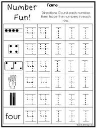 fun subitizing and tracing printable worksheets in a pdf file prek