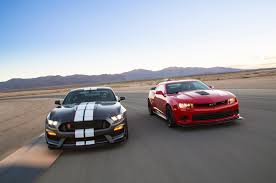 road test 2015 mustang 2015 chevrolet camaro z 28 vs 2016 ford shelby gt350r mustang