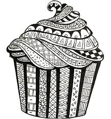 coloring pages for grown ups 82 best cupcakes cakes coloring pages for adults images on