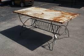 Metal Patio Furniture Sets Metal Patio Table Kmsfu Mauriciohm