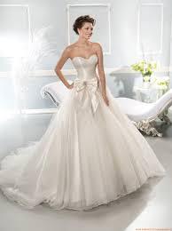 robe de mari e satin robe de mariée corset 2014 satin tulle avec noeud
