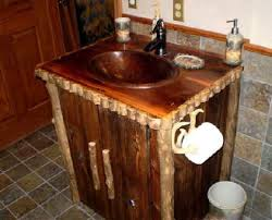 Rustic Bathroom Vanity Cabinets by Beautiful Rustic Bathroom Vanities