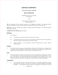 Help Desk Service Level Agreement 7 Contract For Services Template Timeline Template
