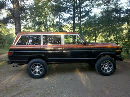 jeep wagoneer lifted 1st wagoneer jeep registry