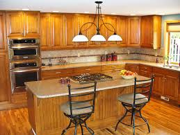 Kitchen Design Oak Cabinets Image Result For Pictures Of Oak Cabinets With Quartz Countertops