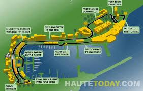 Monte Carlo Map Monaco Grand Prix With Grace Beyond Grace Kelly