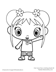 ni hao kai lan coloring page free download