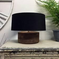 Rustic Lamps For Living Room Fantastic Rustic Table Lamps With Contemporary Table Lamps Living