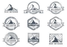 matterhorn outdoor adventure logo download free vector art