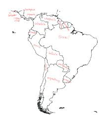 Blank Map Of South America by Here U0027s What Happened When Diplos Took The Blank Map Challenge