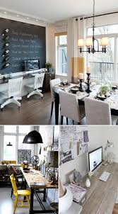 dining room to office trend home office in dining room ideas 32 love to work from home