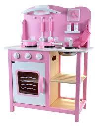 puppenküche holz holz kinderküche mit zubehör rosa de spielzeug