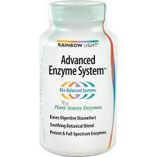 rainbow light advanced enzyme system rainbow light advanced enzyme system 180 vegetarian capsules the