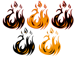 tribal fire dragon tattoos designs clip art library