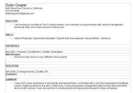 Free Resume Builder Online No Sign Up Resume Builder Free No Sign Up Resume Builder Screenshot Free