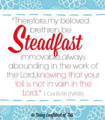 7 scriptures steadfast heart confident