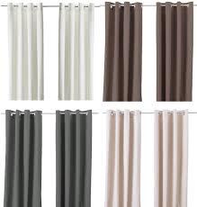 Curtains Curtains Ikea Merete Curtains Decor Jpm Design Ikea White Grommet