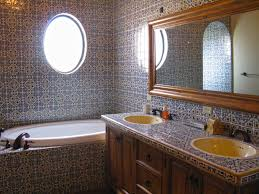 Tile Wall Bathroom Design Ideas 44 Top Talavera Tile Design Ideas