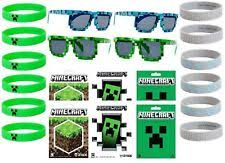minecraft party favors minecraft party supplies ebay
