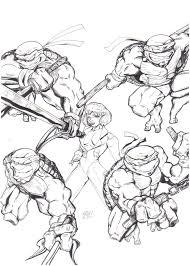 teenage mutant ninja turtles rocbottom deviantart