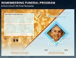 Funeral Program Designs 7 Free Funeral Program Templates Excel Pdf Formats