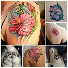 cute hawaiian flower tattoos very tattoo