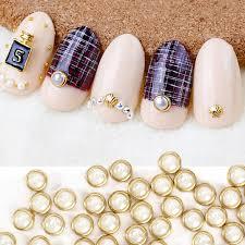 aliexpress com buy perfect summer 3d nail art pearl rhinestones