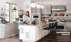 martha stewart kitchen island martha stewart living secret of a hardworking kitchen le book