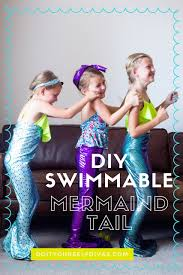 Do It Yourself Divas Diy by Do It Yourself Divas Diy Mermaid Tail You Only Need 1 Yard Of