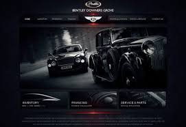 website designs 20 automotive website designs for your inspiration hongkiat